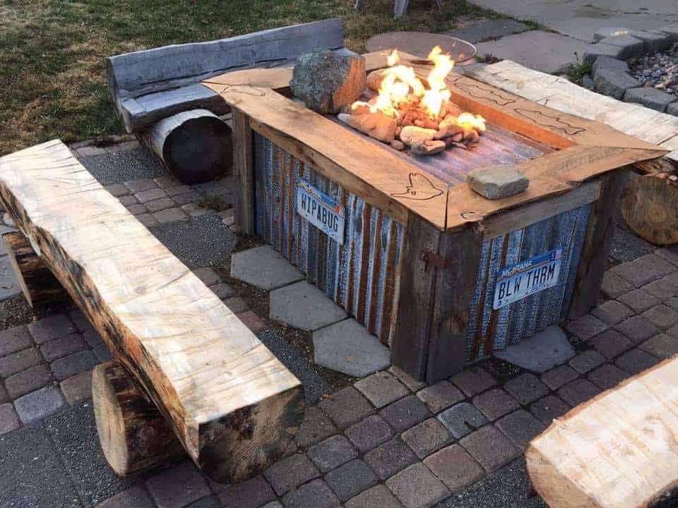 Montana Gas Fire Pits