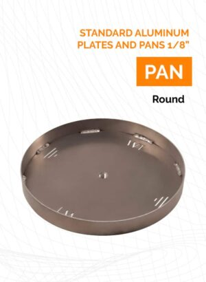 Standard Aluminum Plates and Pans 1/8""