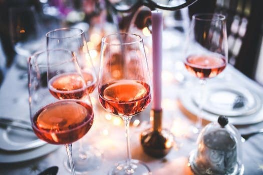 Wine Tasting at a Fire Pit Party