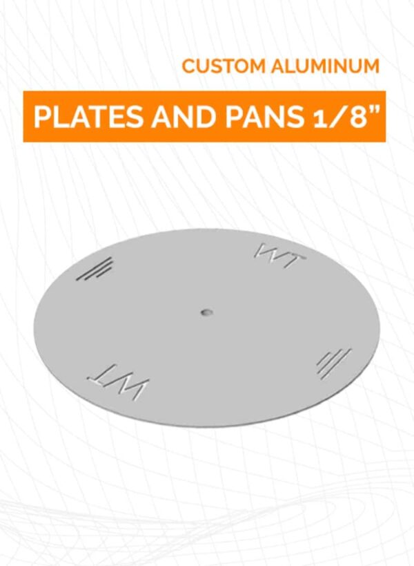 Custom Plates and Pans