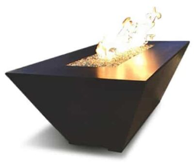 Geo Rectangle Fire Table