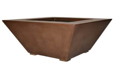 Geo Square Fire and Water Bowl