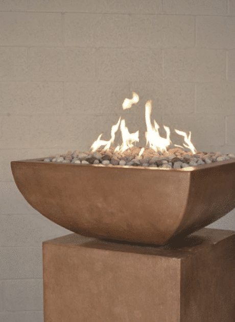 Legacy Square Fire Bowl
