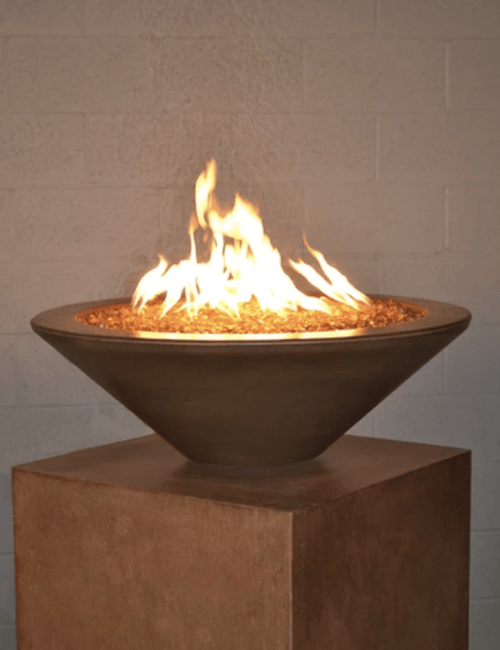 Aura Square Fire Table Missoula Mt Montana Fire Pits
