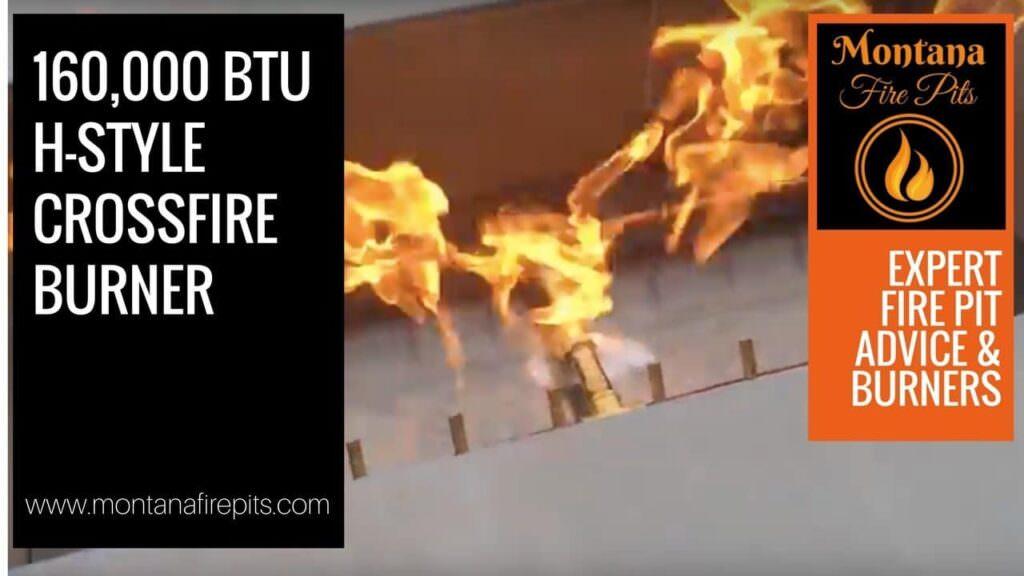 160,000 crossfire burner