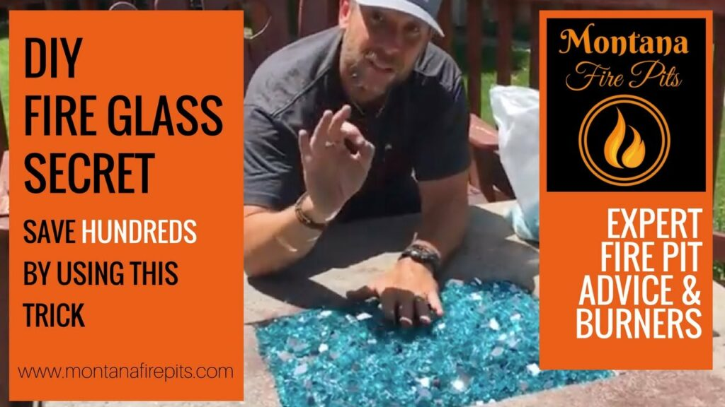 save money on fire glass