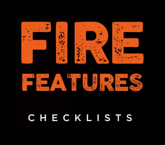 Fire Features Checklists