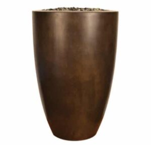 Legacy Round Tall Fire Vase