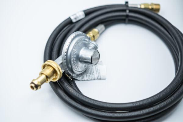 LPRH 200k- Liquid Propane Regulator with 10' Hose for use up to 200k BTU