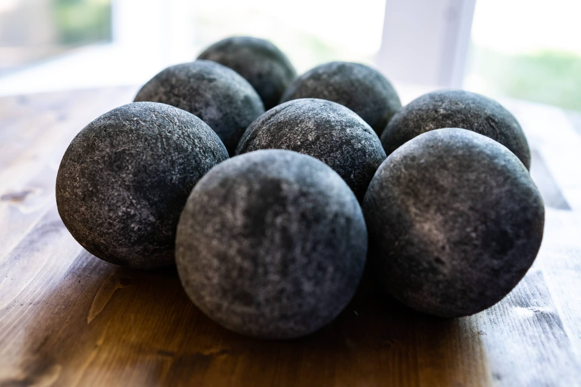 Cannon fireballs dark grey