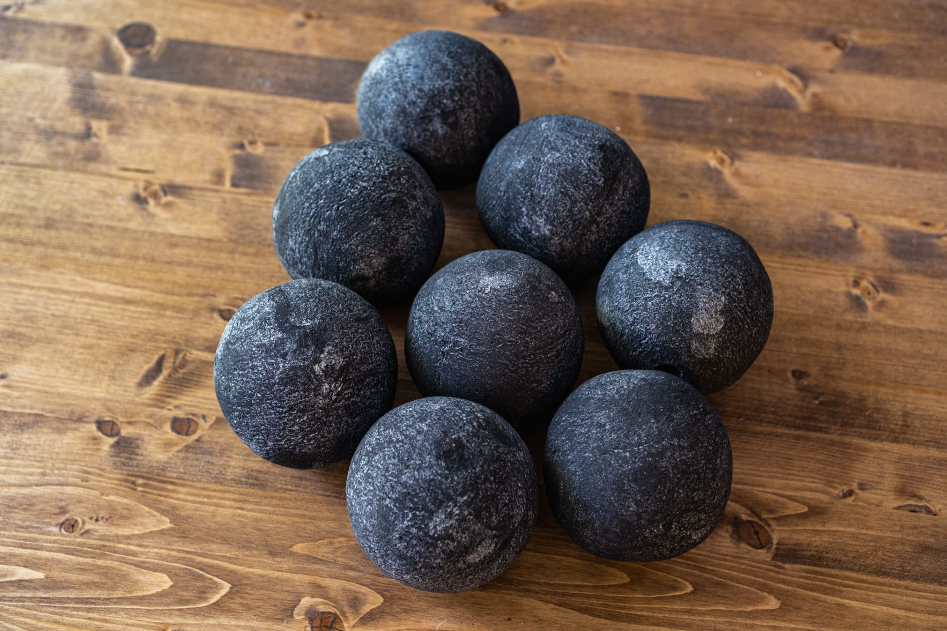 cannon fireballs black