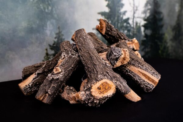 Weathered Oak Log Set