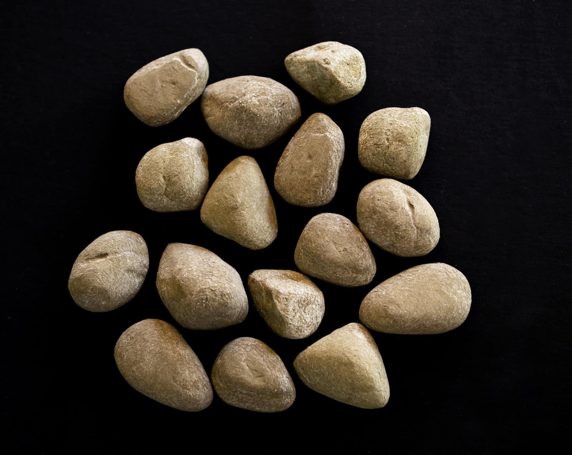 Ceramic River Stones Brown