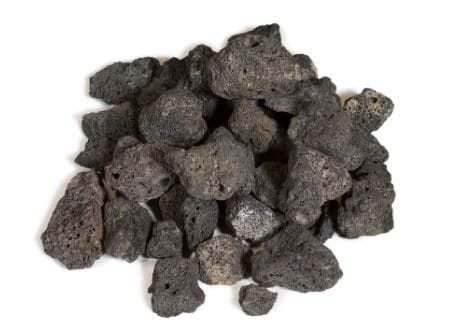Black Lava Rock (Purchase by Opening Size)