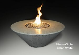 Athena Circle Fire Table