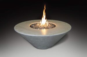Aura Circle Fire Table
