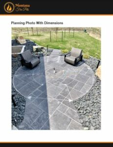 Planning Photo with Dimensions