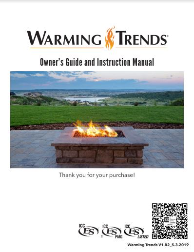 Warming Trends Owner's Guide and Instruction Manual