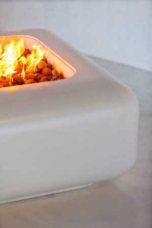 Cubo Round Fire Table