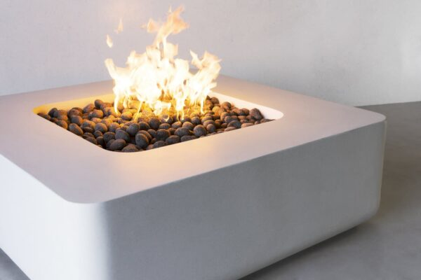 Cubo Rounded Fire Table