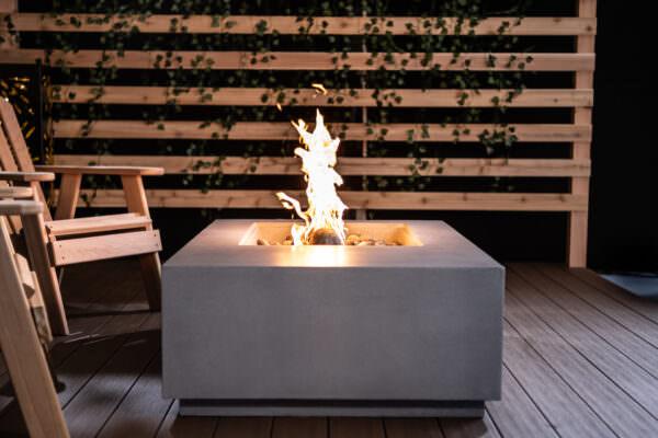 Lumera Gather Fire Table