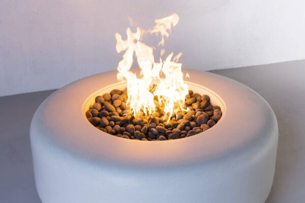 Oblica Rounded Fire Table