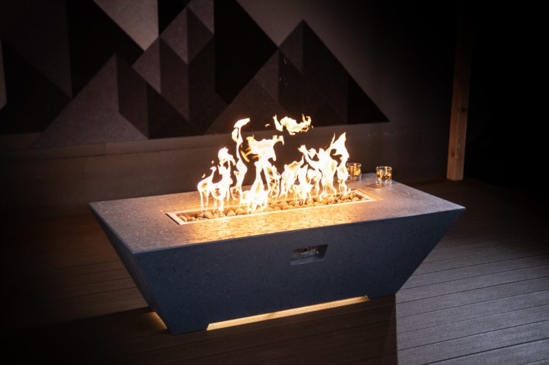 Athena Rectangle Fire Table
