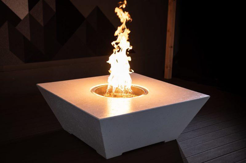 Athena Square Fire Table - Ready to Ship