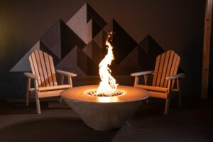 Athena Circle Fire Table - Ready to Ship ($200 OFF)