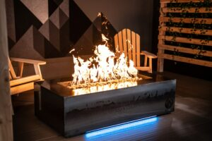 Olympic Steel Fire Table