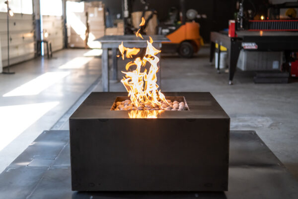 Glacier Steel Fire Table - Ready to Ship
