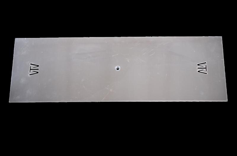 """Rectangular Aluminum Plates 1/8"""""""