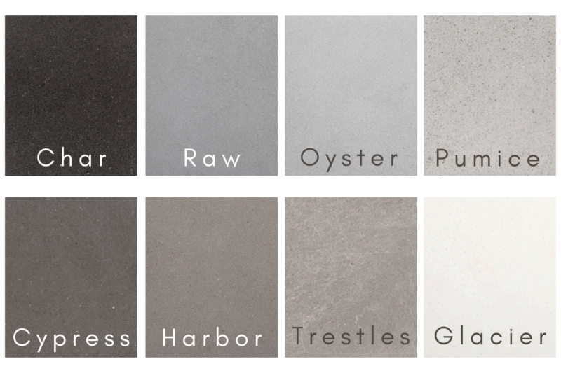 Harbor Series Color Samples